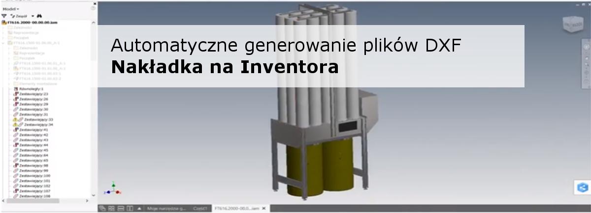Automatyczne generowanie plików DXF