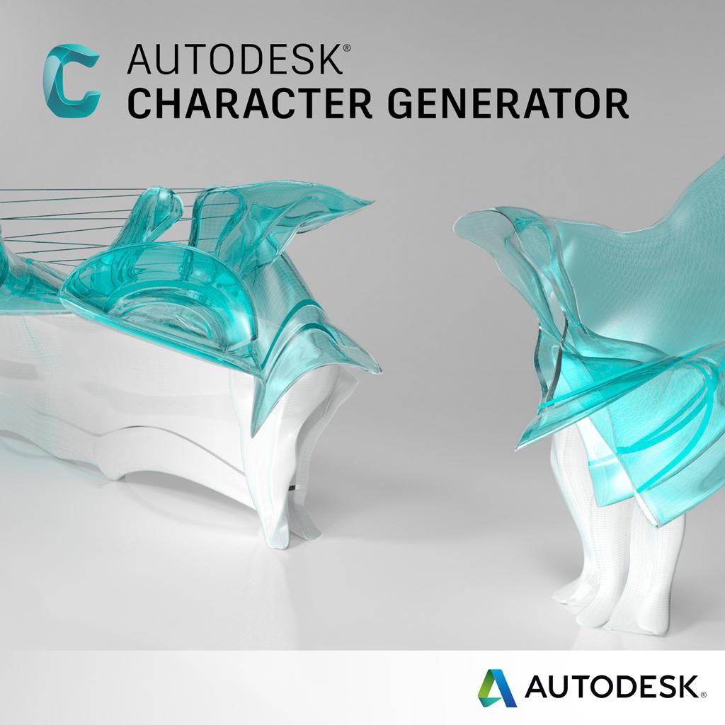 autodesk character generator najni sza cena sklep online aec design. Black Bedroom Furniture Sets. Home Design Ideas