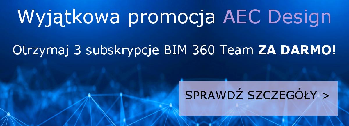 oprogramowanie autodesk kolekcja aec bim 360 team za darmo