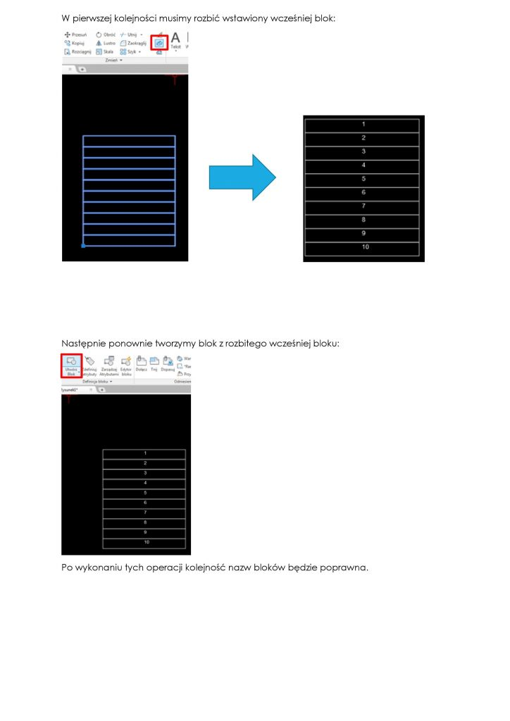 tips and tricks w autocad