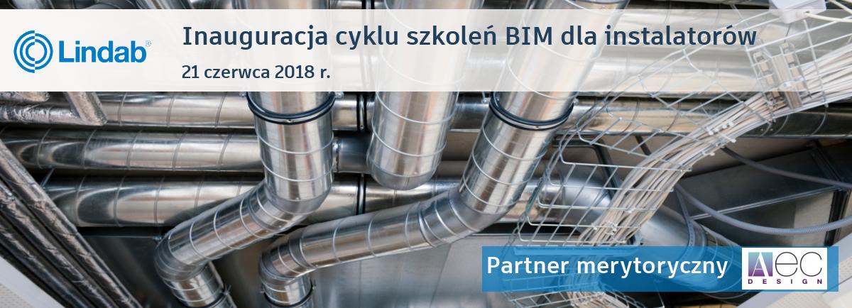 """""""Inauguracja cyklu szkoleń BIM dla instalatorów"""" Partner merytoryczny AEC Design"""