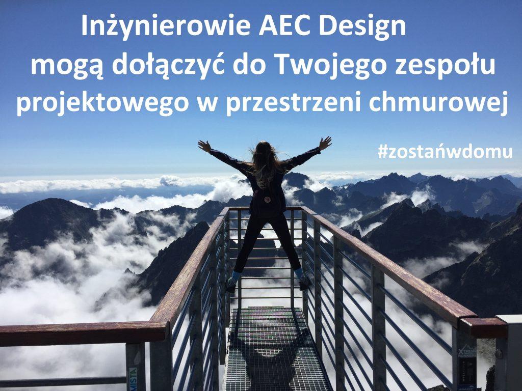 Inżynierowie AEC Design mogą dołączyć do Twojego zespołu projektowego w przestrzeni chmurowej