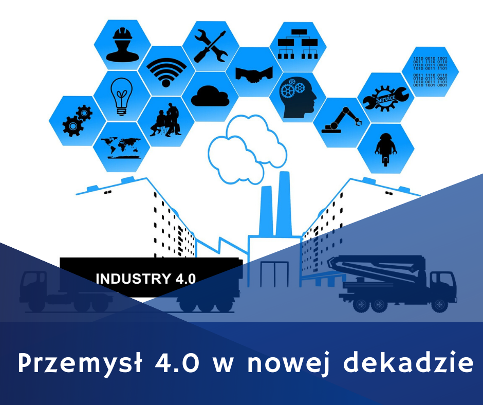 przemysł 4.0 w nowej dekadzie, automatyzja i optymalizacja pracy w przemysle