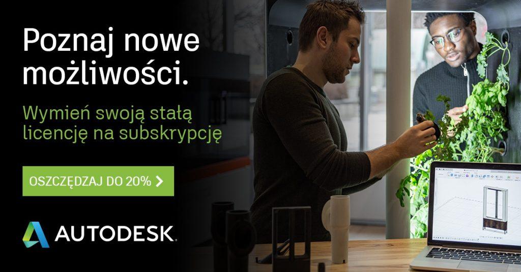 poznaj nowe możliosci Autodesk