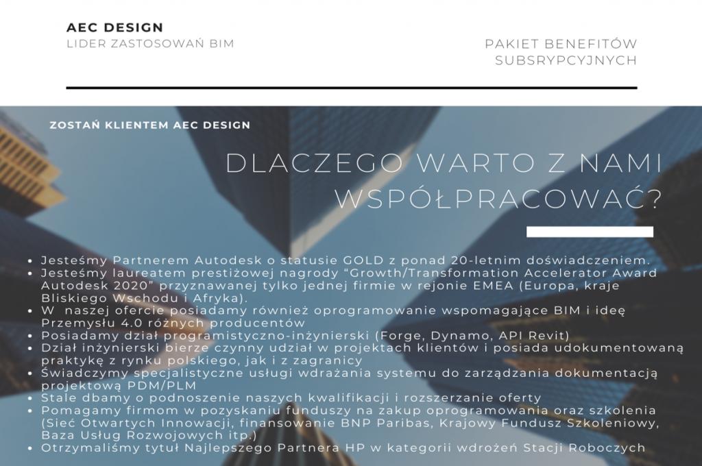 dołącz do klientów AEC Design